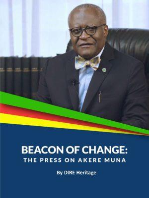 Beacon of change: The press on AKERE Muna